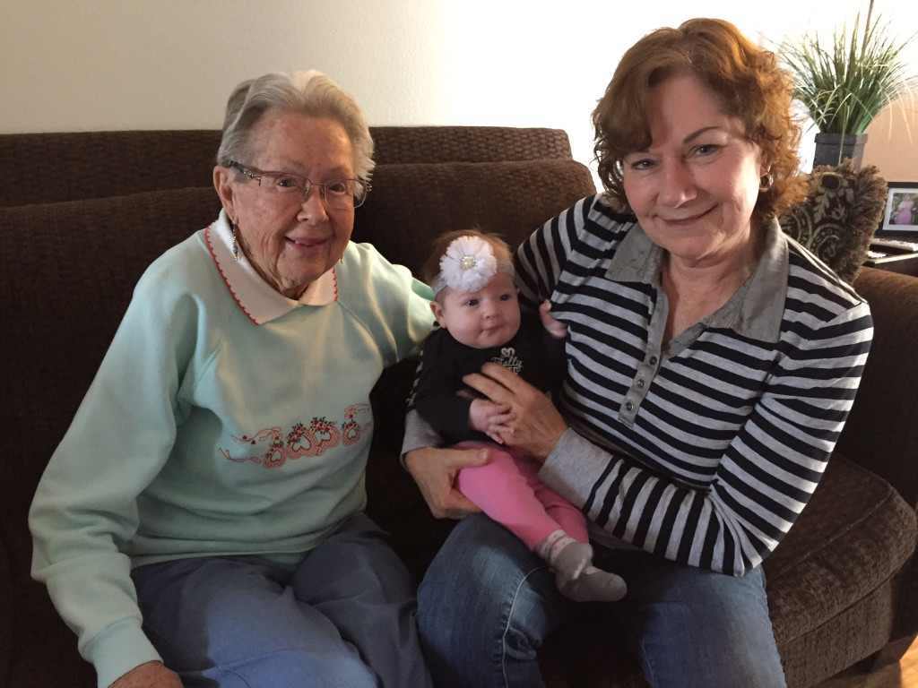 Grandma, Aunt Terry and Lexi