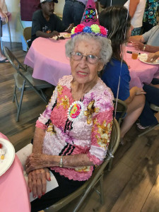 Maxine's 100th Birthday Party2